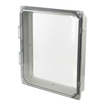 """Allied Moulded AMHMI120CCHTP 12"""" x 10"""" HMI Cover Clear"""