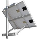 Solar Mount 2X-SPM-(40W-90W) Adjustable Side Pole