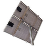 Solar Mount 2X-TPM-3 inch T Type Fixed Top Pole