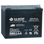 BB Battery MPL80-12 Long Life High Power Cyclic Battery 12V 80AH