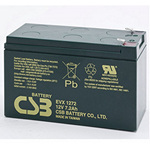 CSB Battery EVX1272 Deep Cycle Battery 12V 7.2AH