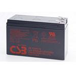 CSB Battery HR1234WF2 High Rate Battery 12V 9AH