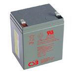 CSB Battery HRL1223WF2FR High Rate Long Life Battery 12V 5.8AH