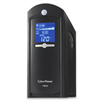 CyberPower CP1285AVRLCD Line Interactive UPS Simulated Sine 1285VA