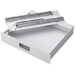 "Hoffman A19DR2U Steel Drawer 19"" Rack 3.47"" High Light Gray"