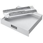 "Hoffman A19DR4U Steel Drawer 19"" Rack 6.97"" High Light Gray"