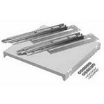 "Hoffman A19SHP6 Sliding Steel Shelf 19"" Rack 16x16 Light Gray"