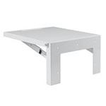 Hoffman AASHLF1218 Steel Folding Shelf 18x12 White