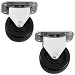 Hoffman AC4M6ST Casters Stationary Set of 2
