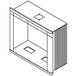 Hoffman CCC284014PNK CC4000 HMI Solid Enclosure