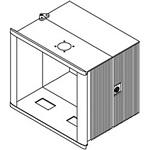 Hoffman CCC334026HPNK CC4000 HMI Hinged Enclosure