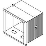 Hoffman CCC425326HPD CC4000 HMI Hinged Enclosure
