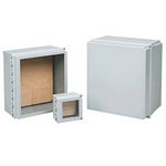 """Hoffman D181610CHSCFGWP 18""""x16""""x10"""" Hinge-Cover WiFi Network Cabinet Type 4X"""