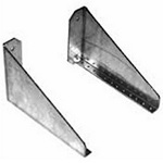 Hoffman DBERA4U Fixed Equipment Rack Angles