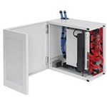 "Hoffman DBL242412G 24""x24""x13.0"" L-Box Network Cabinet Type 1"