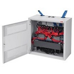 "Hoffman DBS362412G 36""x24""x13.0"" D-Box Network Cabinet Type 1"