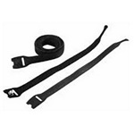 "Hoffman ECWTD8B Velcro Cable Wrap Black 8"""