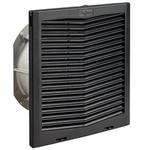 """Hoffman HF1324523 Filter Fan Package 13"""" Type 12, 24 VDC, 297 CFM Black"""