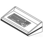 Hoffman PEKBMC6SS PROLINE Keyboard Shelf with Keyboard