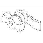 Hoffman PSHLOCK Pull-Out Shelf Lock