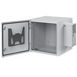 """Hoffman PTRS482424G4A 49.0""""x24.0""""x25.0"""" ProTek Single-Door Network Cabinet"""