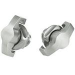 Hoffman PTWPSS Padlocking Wing Knob Quarter Turn Stainless Steel