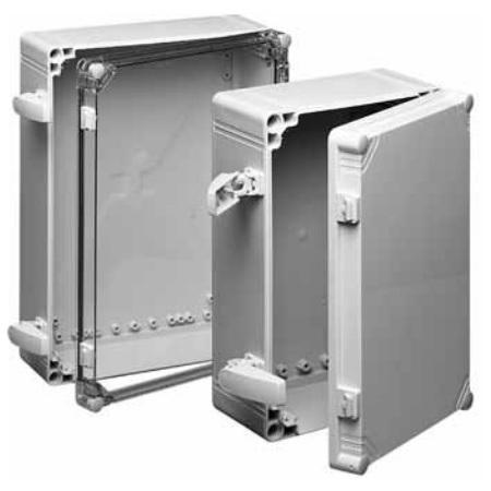 Hoffman Q402013ABICC QLINE I Non-Metallic ABS Enclosure