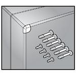 Hoffman QDHK QLINE D Hardware Kit