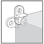 Hoffman QDMFK QLINE D/E Mounting Bracket Kit