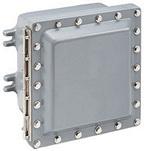 "Hoffman SX7EAA6 Hazardous Locations SX7 Series Aluminum Junction Box 13.82"" x 14.02"" x 9.06"""
