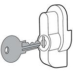Hoffman UUHKL ULTRX Keylocking Kit