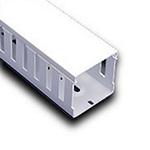 "Iboco T11022W Wire Duct White Wide Finger 1""W x 2.25""H"