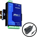 Moxa NPort 5232 w/adapter