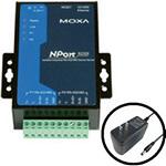 Moxa NPort 5232I w/adapter