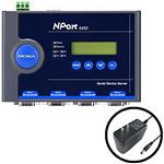Moxa NPort 5450I w/adapter