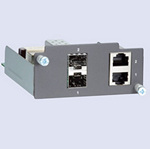 Moxa PM-7200-2GTXSFP Modules for PT Series