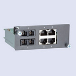 Moxa PM-7200-2MSC4TX Modules for PT Series