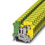 Phoenix Contact 3001420 Ground modular Terminal Block - UK 10-PLUS-PE