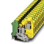 Phoenix Contact 3001433 Ground modular Terminal Block - UK 10-TWIN-PE