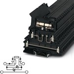 Phoenix Contact 0711616 Fuse modular Terminal Block - UKK 5-HESILA 250 (6,3X32) - Fuse type: Glass