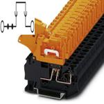Phoenix 3035140 black/orange Disconnect Terminal Block