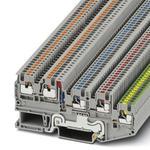 Phoenix Contact 3244467 Sensor/actuator Terminal Block - PTIO 1,5/S/4-PE-LED 24 RD