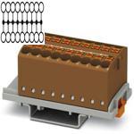 Phoenix 3273054 brown Distributor Terminal Block