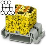 Phoenix 3273218 black/yellow Distributor Terminal Block