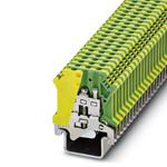 Phoenix Contact 0446017 Ground modular Terminal Block - USLKG 4-1