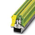 Phoenix Contact 0444048 Ground modular Terminal Block - USLKG 6 N-1