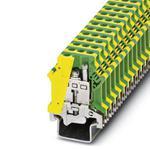 Phoenix Contact 0448015 Ground modular Terminal Block - USLKG 16-1