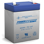 PowerSonic Battery PS1227 General Purpose Battery 12V 2.9AH