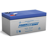 PowerSonic Battery PS1230 General Purpose Battery 12V 3.4AH
