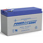 PowerSonic Battery PS1290F2 General Purpose Battery 12V 9AH